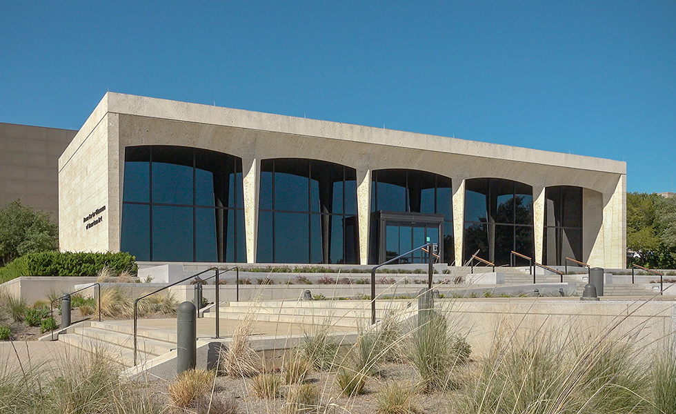 The Amon Carter Museum.
