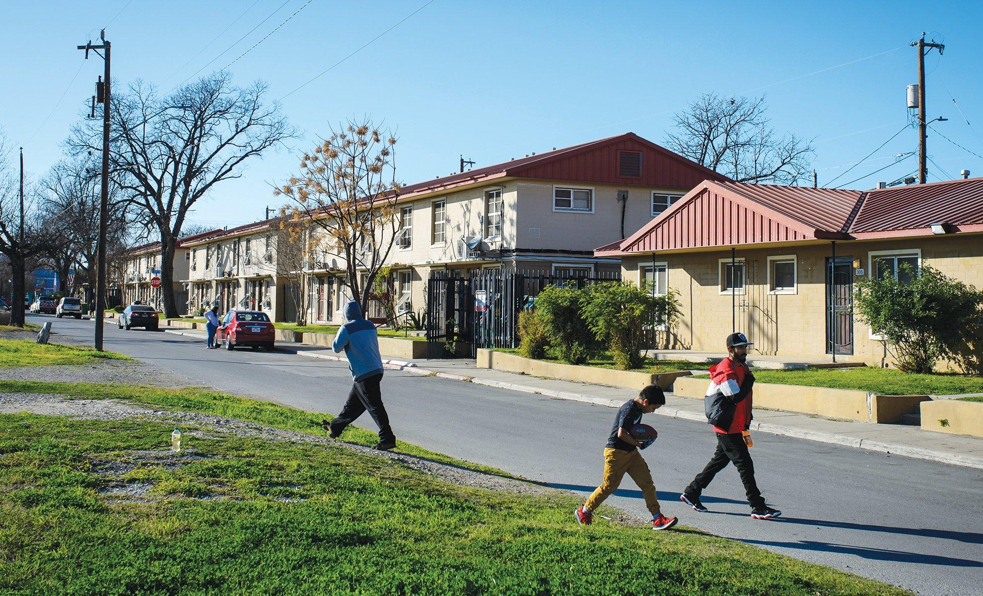 Alazán-Apache Courts is San Antonio's largest and oldest public housing development.