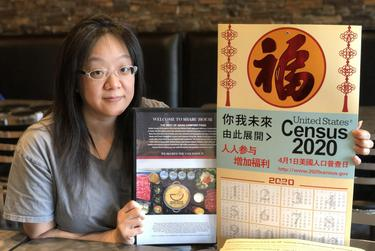 Debbie Chen has been working on additions to the menu at her restaurant in Houston's Chinatown as she waits for permission to reopen to dine-in customers.