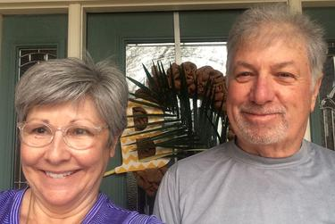 Donna and Kent Boatright's Episcopal and Methodist churches made sure they received palm branches for Palm Sunday despite the suspension of in-person services.