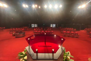 The Glorious Way Church in Houston will host two Easter services limited to about 100 people each.