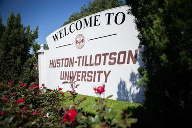 Huston-Tillotson University on April 16, 2020.