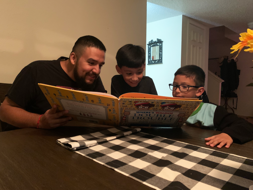 Reading with Dad! | Texas Dad Blog