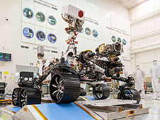 <div>First Drive Test of NASA's Mars 2020 Rover</div>