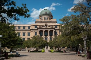 Texas A&M University says it has a lab in College Station that could run as many as 1,800 tests per day; one in Amarillo that could do 1,000; and labs in Center and Gonzalez that could run 300 tests each.