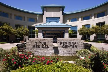 Emergency room visits at Titus Regional Medical Center in northeast Texas have dropped from about 65 a day to a low of 25. With some 40 to 50 procedures canceled a week, revenue has declined 33%.