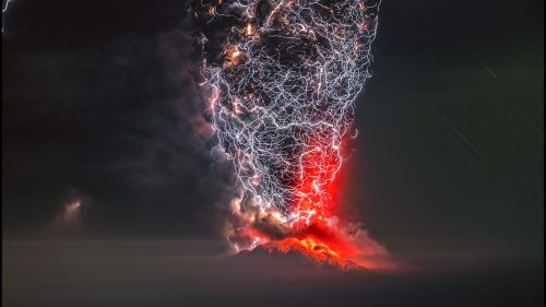 Volcano Lightning Storm Won 'Perfect Moment' Photography Contest, But Every Finalist Captured the Beauty of Earth