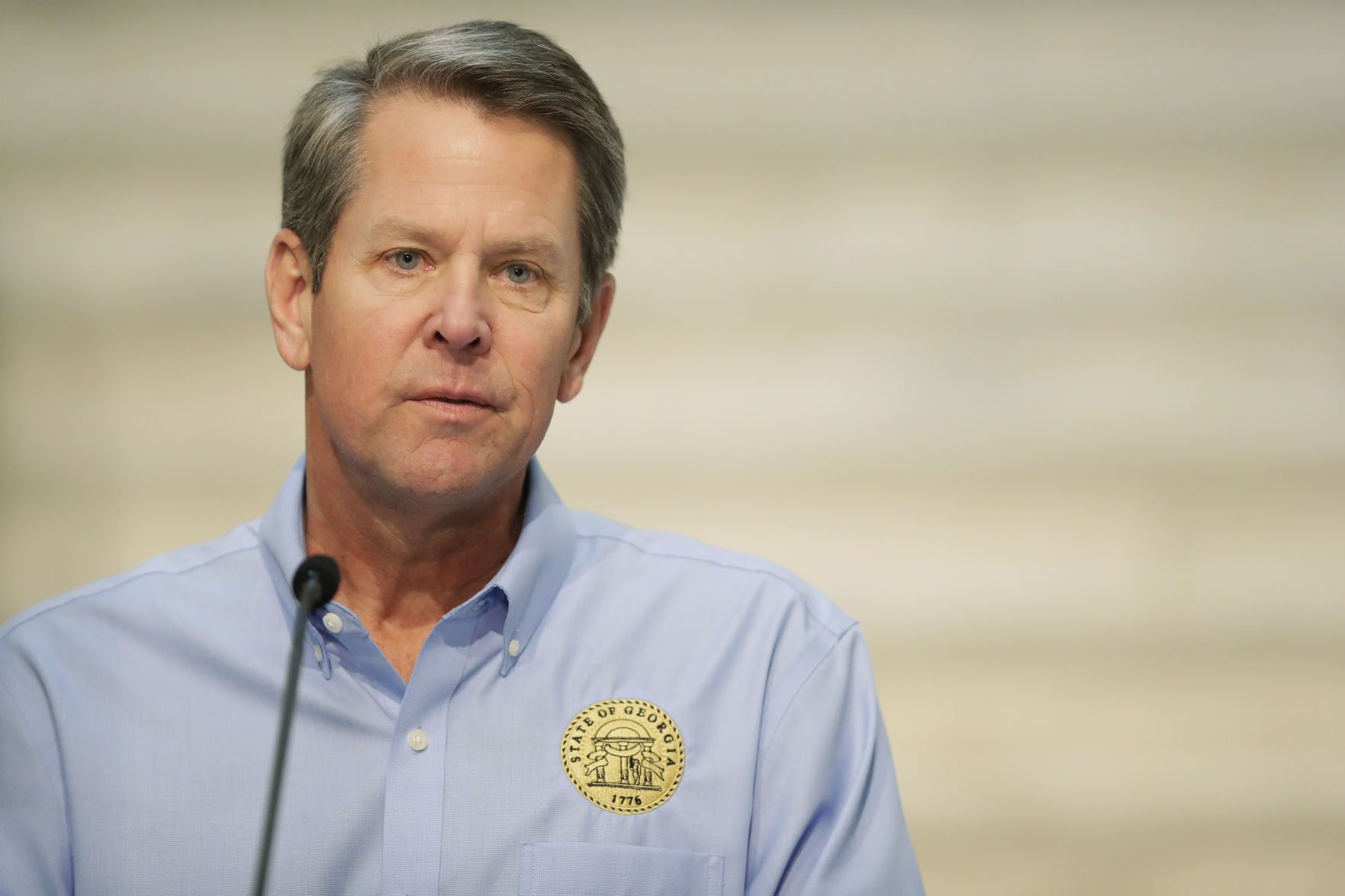 Georgia Gov. Brian Kemp Announces State Will Begin Reopening Friday