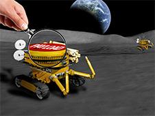 Miniaturized Moon rover