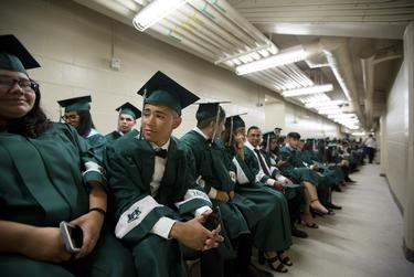 The typical high school graduation isn't going to happen in Texas anytime soon, with all public and private schools closed through the end of the academic year.