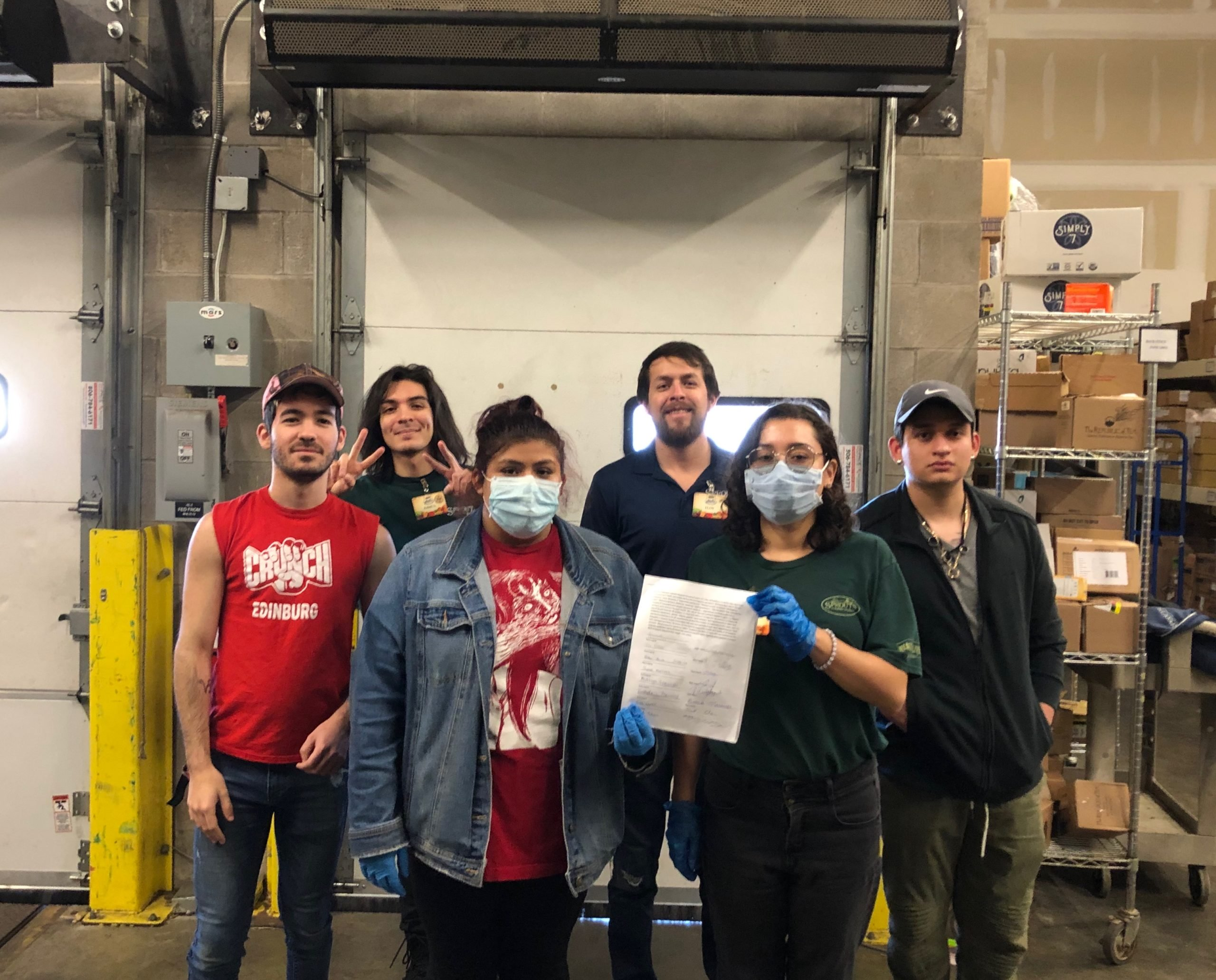 Sprouts coworkers in McAllen, Texas hold list of demands during COVID-19 crisis